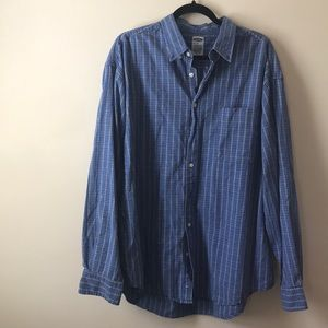 Blue Old Navy Button Down Size XL